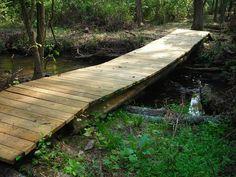 Pond / creek bridge #10.  Simple and flat.