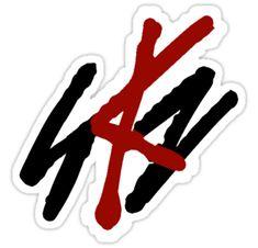'SKZ Logo' Sticker by emmaty Kpop Stickers, Tumblr Stickers, Printable Stickers, Cute Stickers, Logo Stickers, K Pop, Kpop Logos, Aesthetic Stickers, Kids Makeup
