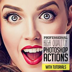 The new professional Photoshop actions can make your photos more beautiful and attractive. The hand-picked fifteen high quality Photoshop actions that will