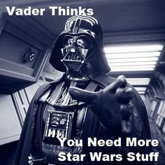 Vader thinks you need more Star Wars stuff! www.jedipedia.net/wiki/Darth_Vader