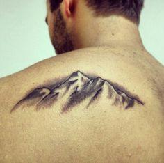 My new mountain tattoo..