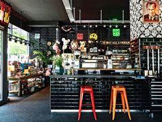 Toykio Coffee & Gallery, Restaurant interior design.