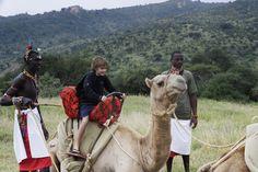 Camel safari at Sabuk... SUCH fun for kids! www.sabuklodge.com
