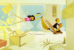 Heartwarming family scenes beautifully illustrated by Pascal Campion | Creative Boom