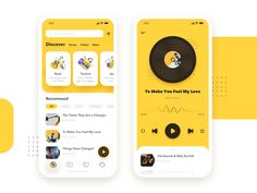 Music Room app by 安愉 on Dribbble Web Design, App Ui Design, Interface Design, Android App Design, Dashboard Design, User Interface, Vector Design, Apps, Ui Design Mobile