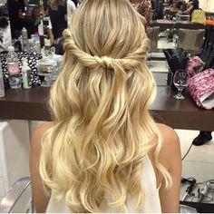 Lala Rudge hair