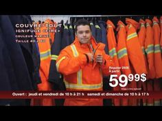Centre de Liquidation du Québec - uniforme de travail - Avril 2016