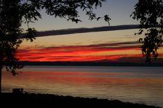Sunrise over Lake Winnebago