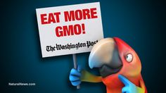 """The Washington Post is now a Monsanto mouthpiece, and key articles published by the Post are essentially """"written"""" by quack science Monsanto operatives..."""