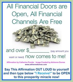 All financial doors are open
