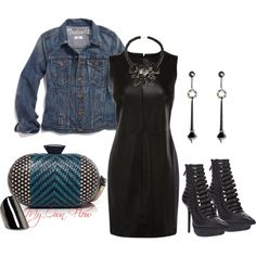 """""""MY EDGY GLAM FLOW"""" by myownflow on Polyvore"""