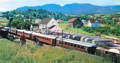 Bø stasjon har gjennom tidene vært et viktig trafikknutepunkt i Telemark.