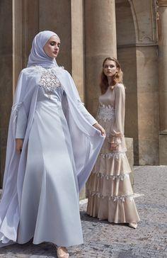 Kayra blue night dress