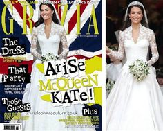 The UK fashion magazine Grazia admitted it dramatically slimmed down Duchess Kate Middleton on its May 2011 cover. As if that was even sort of necessary. Wow.