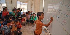 Photos show what going to school is like in Syrian, Yemeni war zones - Business Insider Syrian Children, Save The Children, School Days, High School, Fairfax Media, The War Zone, Schools Around The World, Syrian Civil War, Kids Swing