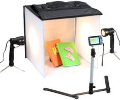 If you love photography and like taking high-quality product pictures you'll adore this photo studio in a box. If you ever sell products on eBay or Etsy you'll find this particularly useful to help you create the best pictures!
