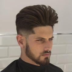 Haircut by javi_thebarber_ http://ift.tt/1omq0FD #menshair #menshairstyles #menshaircuts #hairstylesformen #coolhaircuts #coolhairstyles #haircuts #hairstyles #barbers