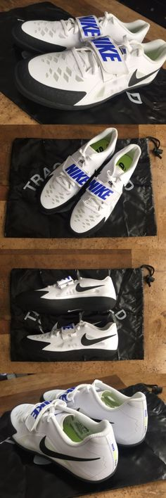 Track and Field 106981: Nike Zoom Sd 4 Throwing Shoes Discus Hammer Shot  Mens Size 10.5 White -> BUY IT NOW ONLY: $45 on eBay! | Pinterest | Discus