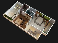 make a 3D model and rendering of your project by green_arch33