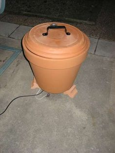 Make a smoker from a clay pot!  http://squarepennies.blogspot.com/2012/06/diy-clay-pot-smoker-with-improvements.html