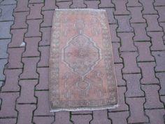 MUTED OUSHAK RUG,Muted Color Doormat,Oushak Doormat,Muted Oushak,Small Oushak Rug,Small Carpet,Bathroom Rug,Muted Turkish Rug,Oushak Doormat by VINTAGEKILIM on Etsy https://www.etsy.com/listing/268767134/muted-oushak-rugmuted-color