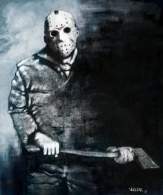 Fan Art of Axe to Grind for fans of Jason Voorhees 25799717 Jason Voorhees, Horror Icons, Horror Films, Horror Art, Horror Posters, Horror Villains, Horror Movie Characters, Jason Friday, Friday The 13th