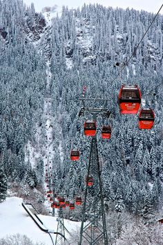 Winter Vacation - World Famous Winter Resorts - Kitzbuhel, Austria #seasonjobs #winter #winterresort