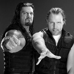 Roman and Dean these guys are the best ever they are always there for each other best Friend's and brother's forever