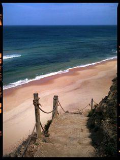 Praia da Aguda, Portugal.