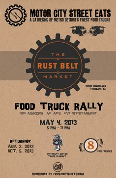 Motor City Street Eats | Food Truck Rally at the Rust Belt Market