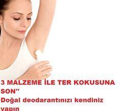 3 malzeme ile doğal deodorant yapımı
