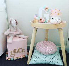 Children's bedroom #littlebelle #mushroomlight #childrensdecor #toadstoollight