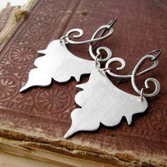 Romantic aluminium earrings elegant di BlackDaisyDesigns su Etsy, kr169.00