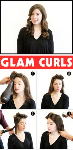 holiday hairstyles with curls