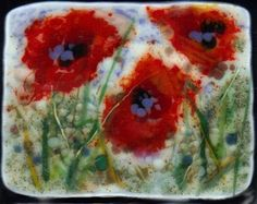 """Daily Paintworks - """"Playing with Poppies and Cherr..."""" by Kristen Dukat"""