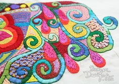 Julie Balzer's embroidery