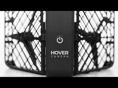 Hover, um discreto drone indiscreto. Estabilidade para filmar parado no ar, reconhece rostos e os segue.