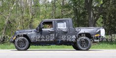 Here's Our Best Look Yet at the 2019 Jeep Wrangler Pickup Jeep Wrangler Pickup, Wrangler Rubicon, Jeep Truck, Future Car, Pick Up, Fun To Be One, Making Out, Automobile, Monster Trucks