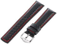Hirsch 025920-52-22 22 -mm  Genuine Calfskin Watch Strap