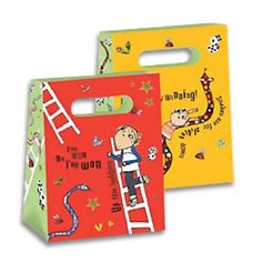 Party Ark's 'Charlie & Lola Shaped Paper Party Bags'