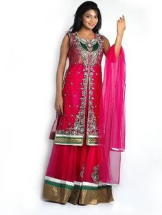 1000+ images about Indian Suits on Pinterest   Anarkali suits