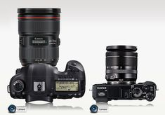 Comparing the Fuji X-E2 and the Canon 5D Mark III
