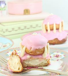 Laduree Religieuse Recipe by Made With Pink, via Flickr
