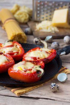 Paprika plnená syrom - Recept pre každého kuchára, množstvo receptov pre pečenie a varenie. Recepty pre chutný život. Slovenské jedlá a medzinárodná kuchyňa