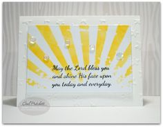 Sweet 'n Sassy Stamps used:  Scripture & Sentiment Companion set.