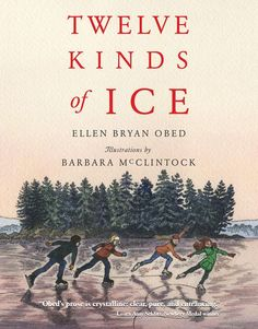 Twelve Kinds of Ice by Ellen Bryan Obed, illustrations by Barbara McClintock. For a novel about ice, I found Twelve Kinds of Ice to be one of the most heart-warming tales I've ever read!