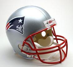 New England Patriots Helmet Riddell Replica Full Size VSR4 Style