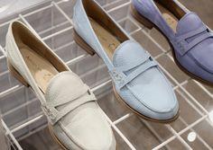 Into the Blue - a key footwear piece.