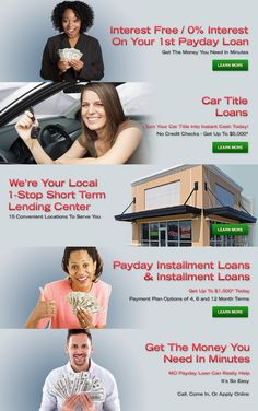 MO Payday Loans offers payday loans and cash advance in St. Louis, MO as well as nearby locations including Alton, Crystal City, Fairview Hts., Florissant, Granite City, High Ridge, Overland, Rock Hill, St. Ann, and St. Charles.  See www.mopaydayloanstore.com/st-louis for details.