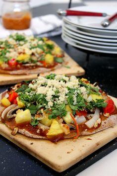 Clean Cuisine BBQ Pizza Recipe---all from scratch!